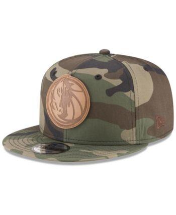 New Era Dallas Mavericks Camo 9FIFTY Snapback Cap - Green Adjustable ... 4b20e0bca