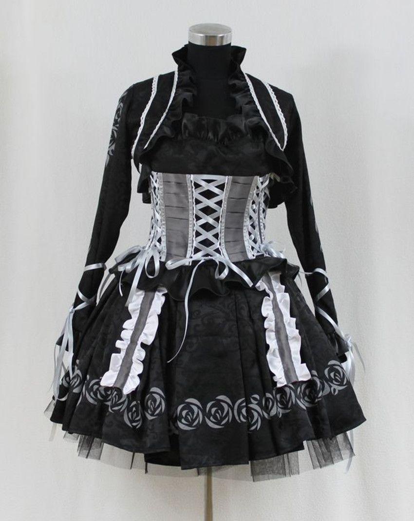Click to buy ucuc vampire knight yuki kuran gothic lolita dress