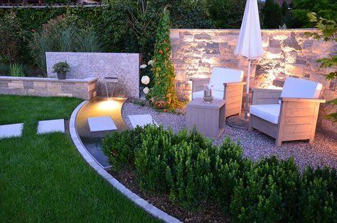 beleuchtung im garten - Google-Suche Reihenhaus Garten - garten reihenhaus