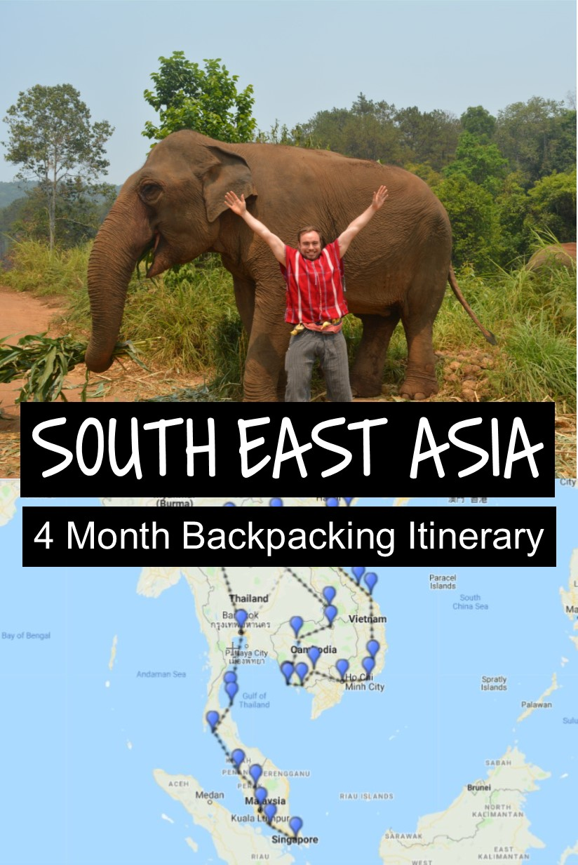 4 Months Travelling Solo In South East Asia Backpacking Itinerary Costs Backpacking Itineraries Asia Travel Backpacking Asia Viaje Por Asia Destinos En Asia Viajar Solo