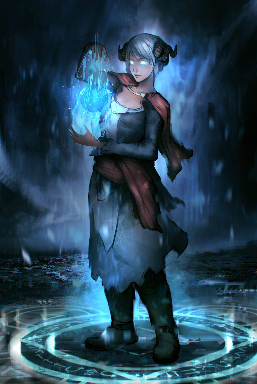 78174490c86 Commission  Female Wizard by TitikAwalCreative on  DeviantArt