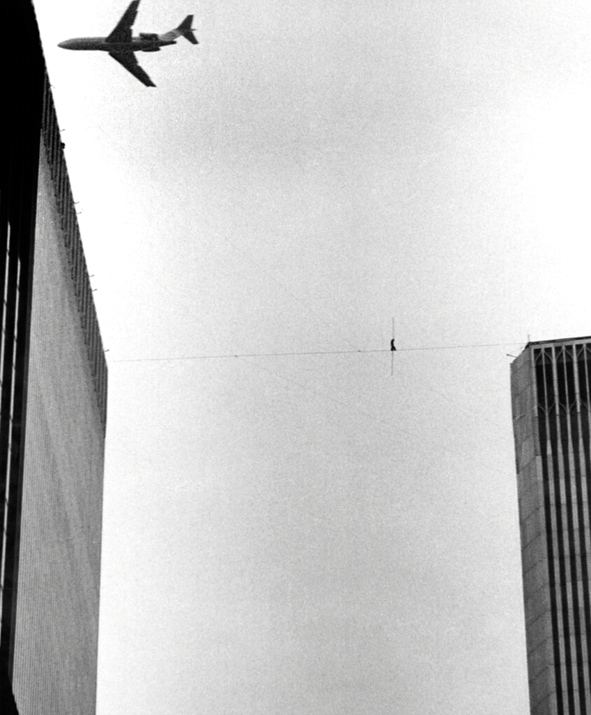 On August 7, 1974, Philippe Petit crossed a 1,350-foot-high ...