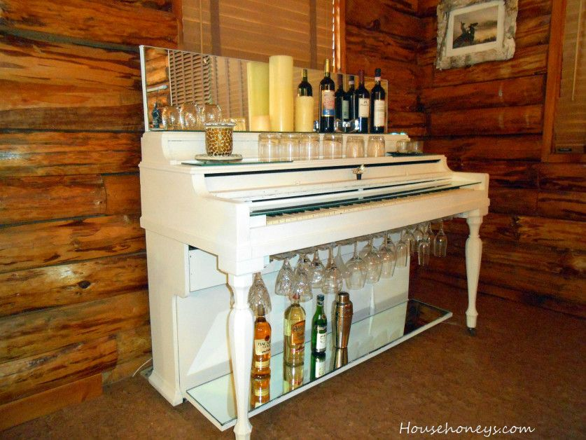 7 inventive ways to reuse an old piano diy home bar
