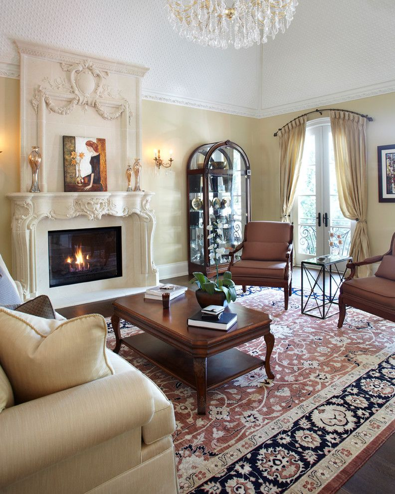Living Room Arch Decorations: Arched Window Treatments Living Room Traditional With