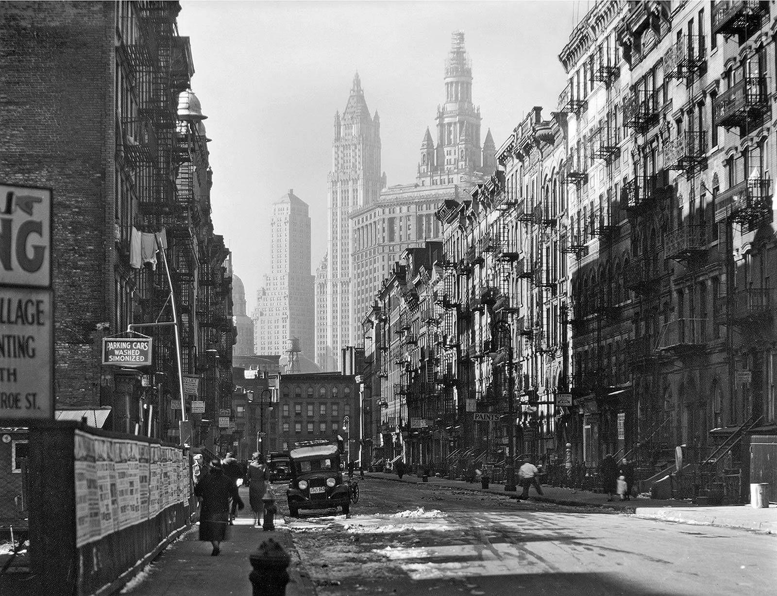 New York By Samuel Gottscho All Aperto Citta Fotografia