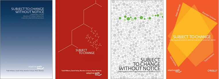 Book Cover Design: Subject To Change | Adaptive Path | Các địa điểm ...