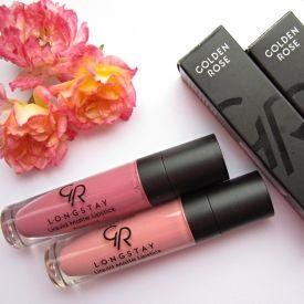 Golden Rose Longstay Liquid Matte Lipsticks 01 03 Nega I Lepota