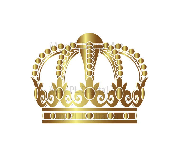 38+ Gold crown clipart free info