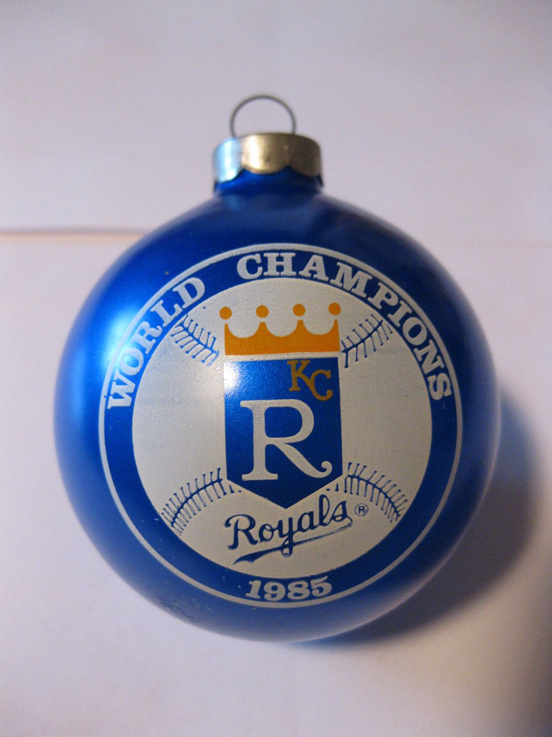 1985 World Champions Kansas City Royals Ornament | Boys in blue ...