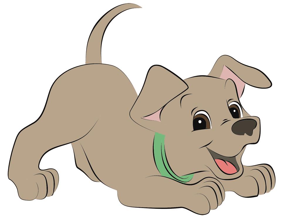Мультяшные собаки картинки, открытки юбилеем