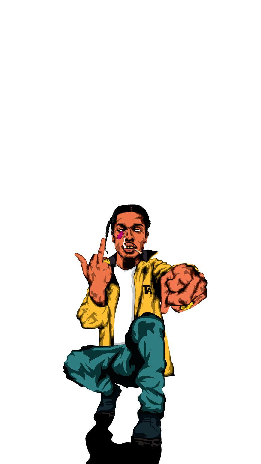 Asap Rocky X ART✌️