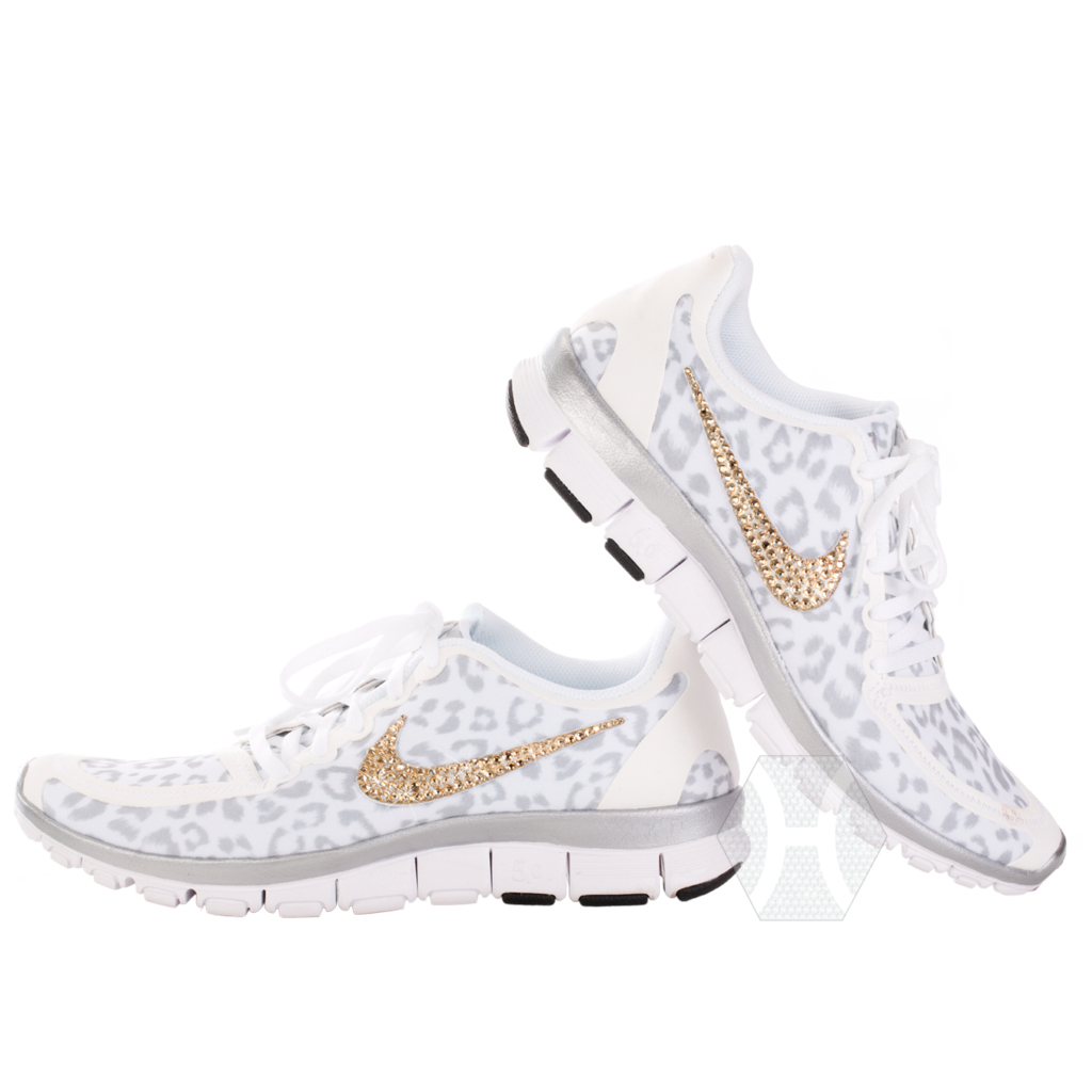 nike free white wolf cheetah and wolf