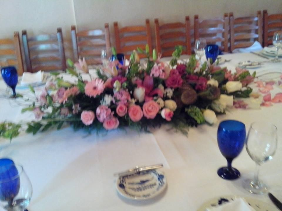 Centro de mesa Imperial Arreglos florales Pinterest Weddings