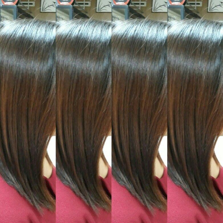 El Alisado De ácido Hialurónico Y Colágeno Hidrolizado Proporciona Al Cabello Un Liso Natural Brillo Intenso Y Una Textura I Hair Styles Hair Long Hair Styles