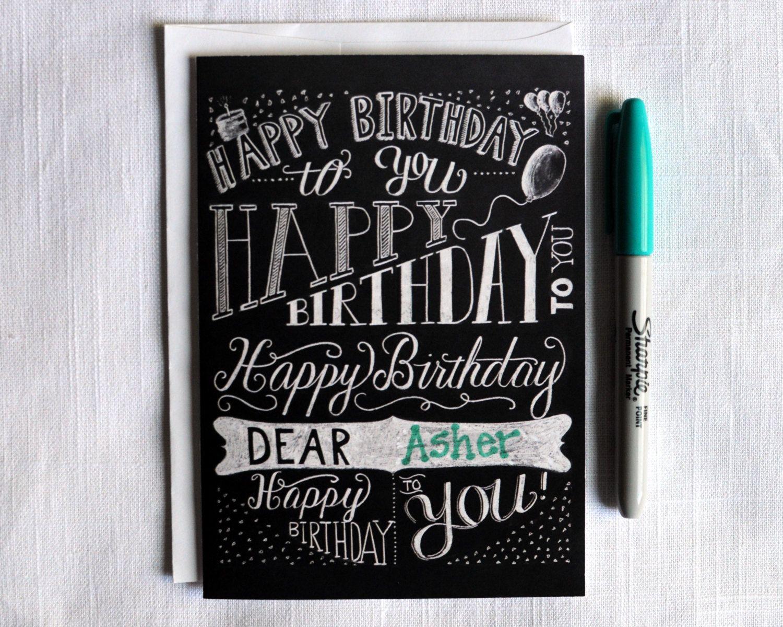 happy birthday typography - Google Search