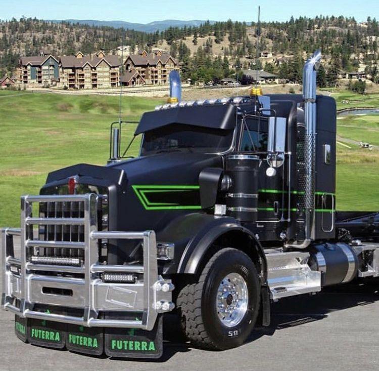 Kenworth T800 Prime Mover With Images Big Trucks Big Rig