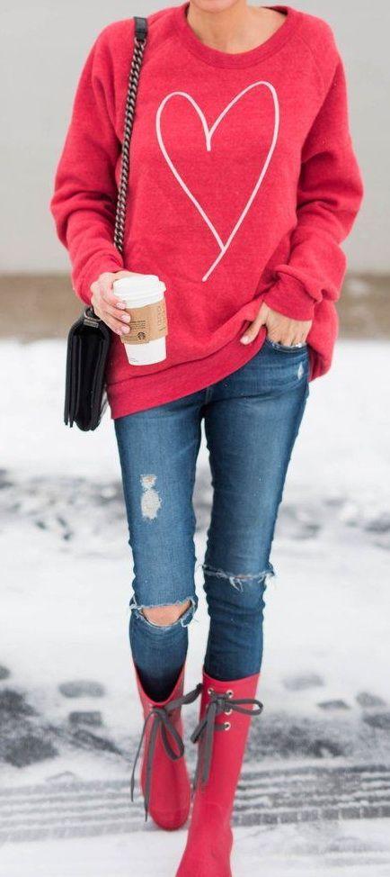 c5e83f39d9 ILY Couture heart sweatshirt