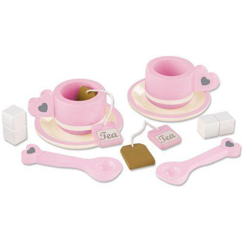 Amazon.com: KidKraft Prairie Tea Set: Toys & Games