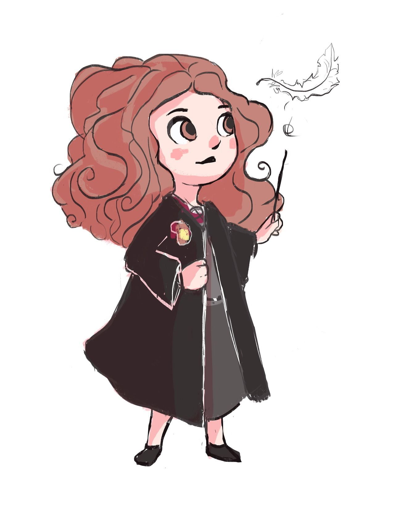 harry potter stickers Illustration Fanart harry potter fan