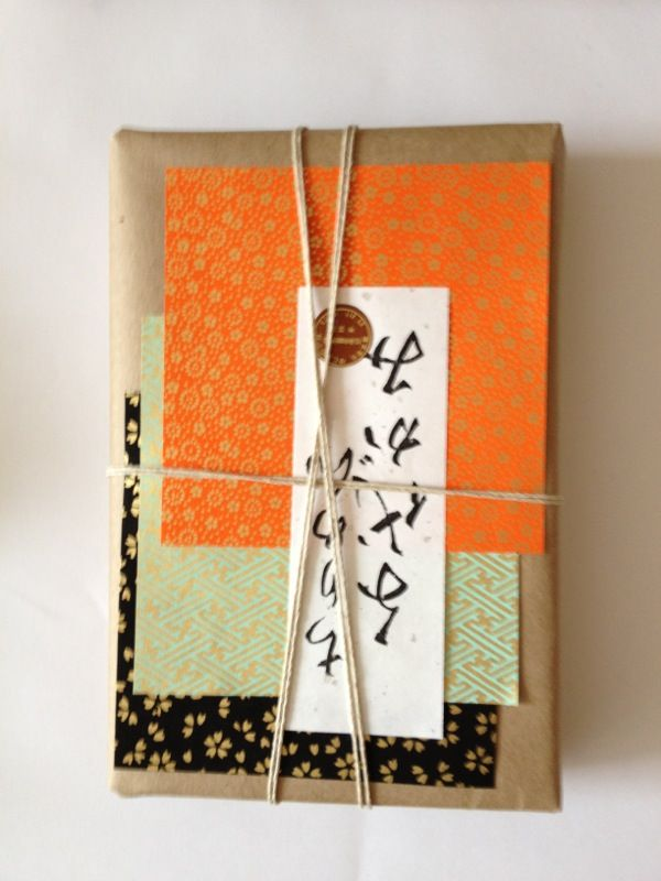 #ecoasian #wrapping #greenwrapping #giftwrapping #lapaperie