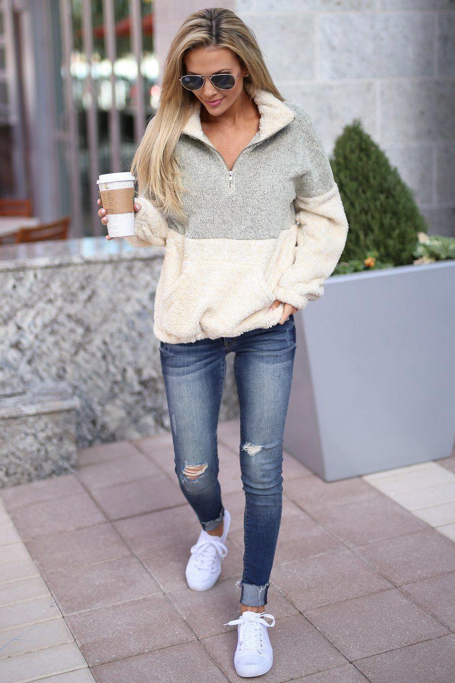 KAN CAN Distressed Skinny Jeans - Gigi Wash