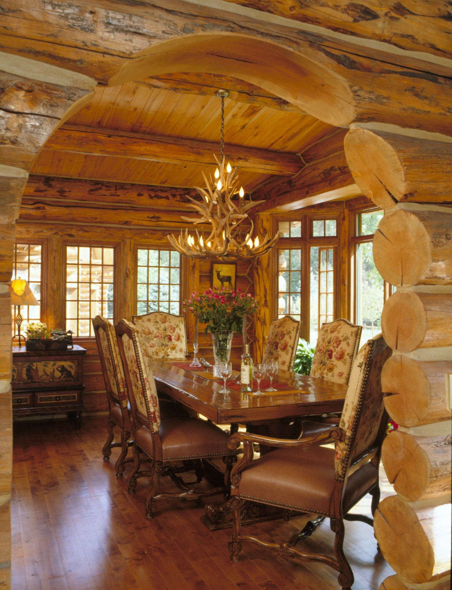 Collection of Best Log Homes by Frontier Log Homes Log