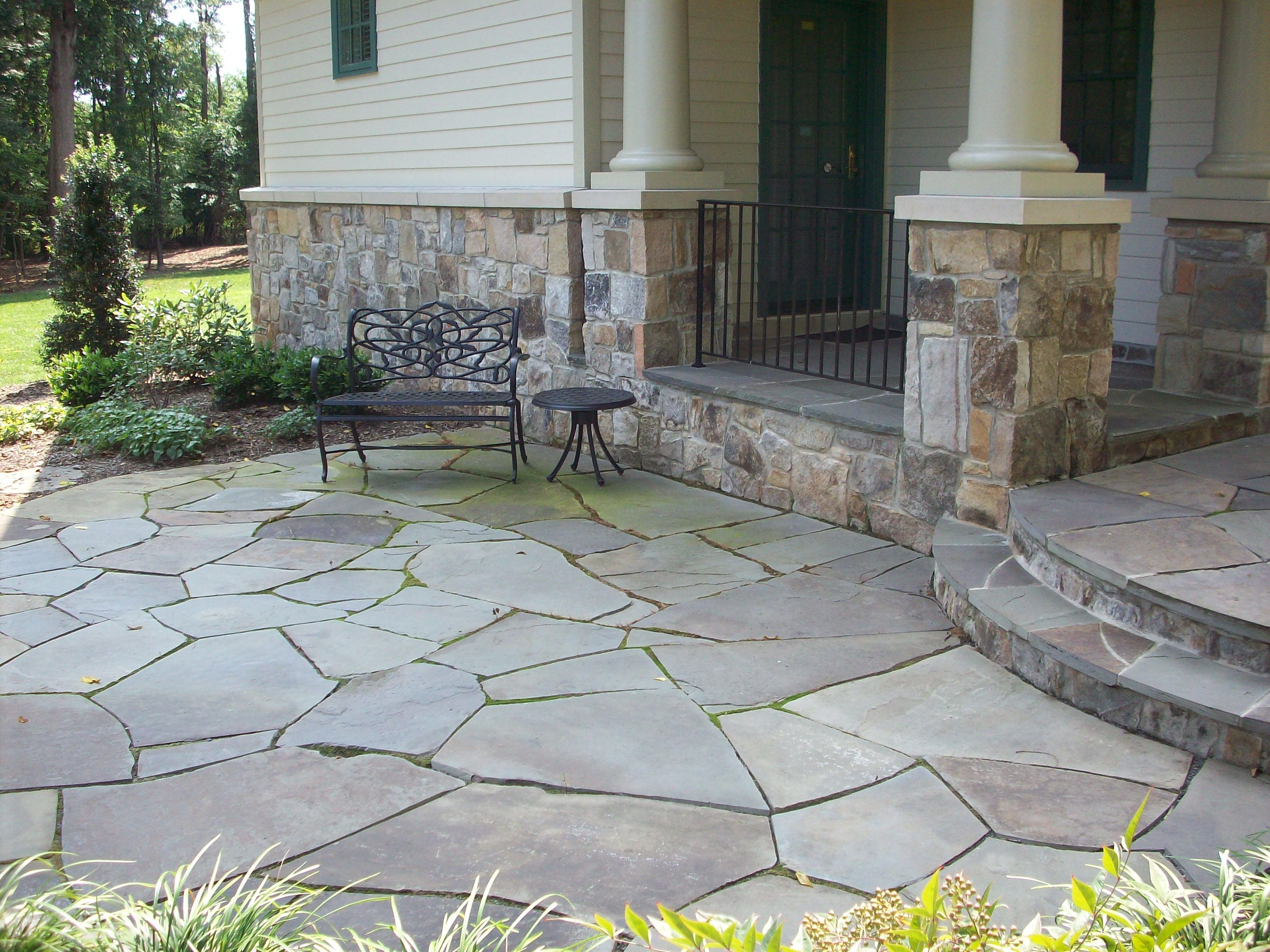 photo marin refinishing stone cleaning flagstone ca natural patios sealed patio improperly dirty mold in algae