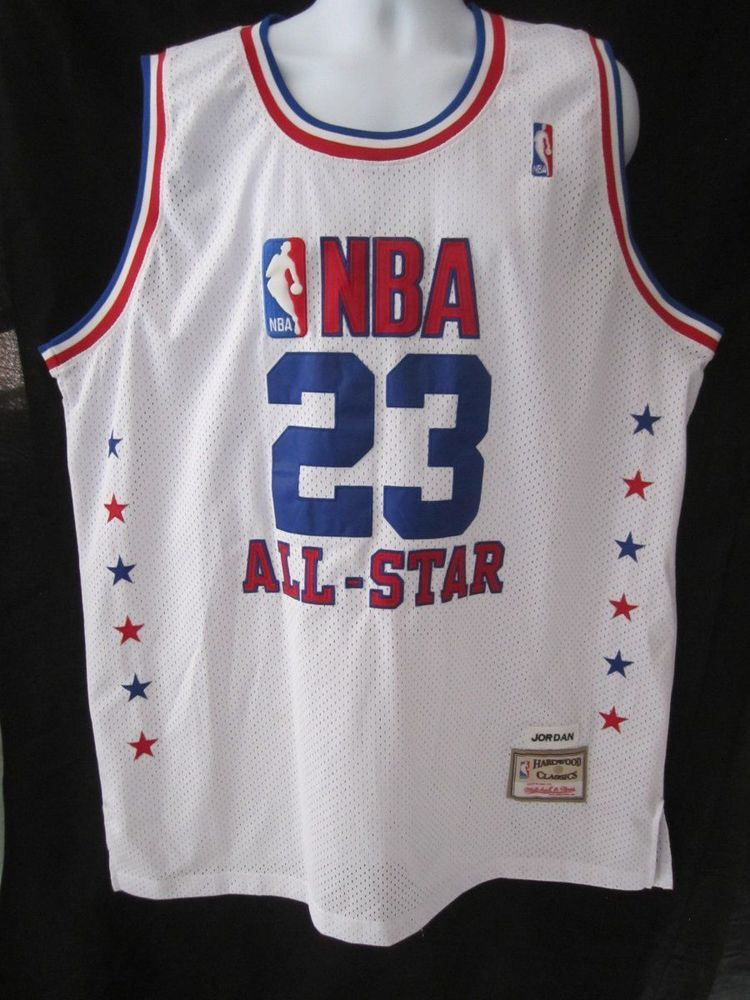 best loved 1ebaa 66cd1 NBA All Star MICHAEL JORDAN  23 Hardwood Classics Mitchell   Ness Jersey  MINT (eBay Link)
