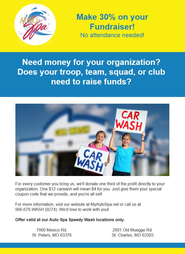 Autospa Car Wash Email Marketing Campaign  Wilson Monnig Creative
