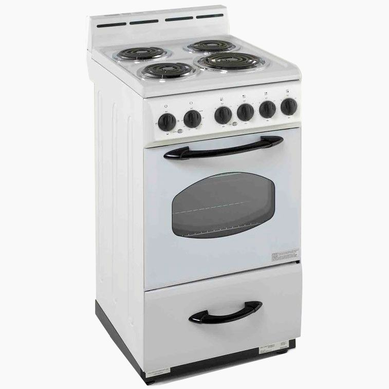 Avanti 20 Free Standing Electric Range White Pcrichard Com Er2001g Home Appliances Sale Freestanding Electric Ranges Home Appliances
