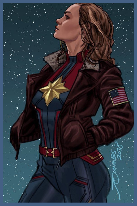Capitana Marvel Avengers Quadrinhos Famosos Marvel Trajes Marvel