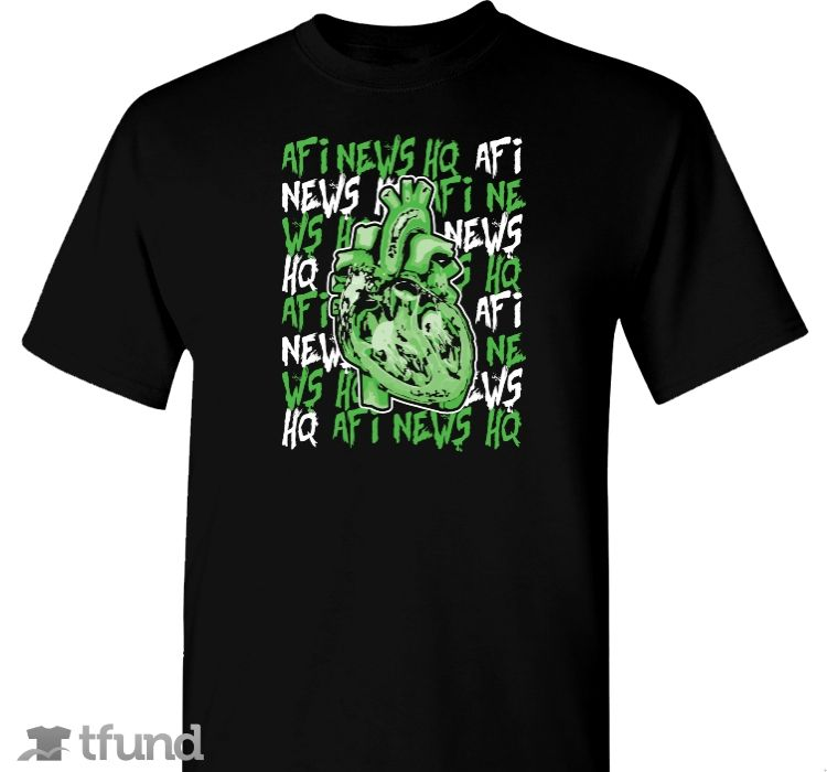 Check out Poison Hearts fundraiser t-shirt. Buy one & share it to help support the campaign! #afi #afinewshq #rad #shirt #dope #design