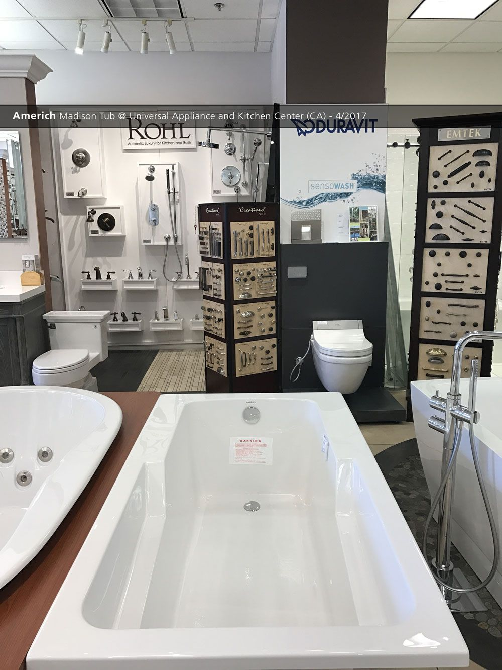Americh Madison Tub @ Universal Appliance And Kitchen Center ...