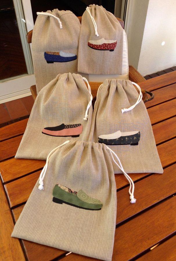 bolsas de tela organizar