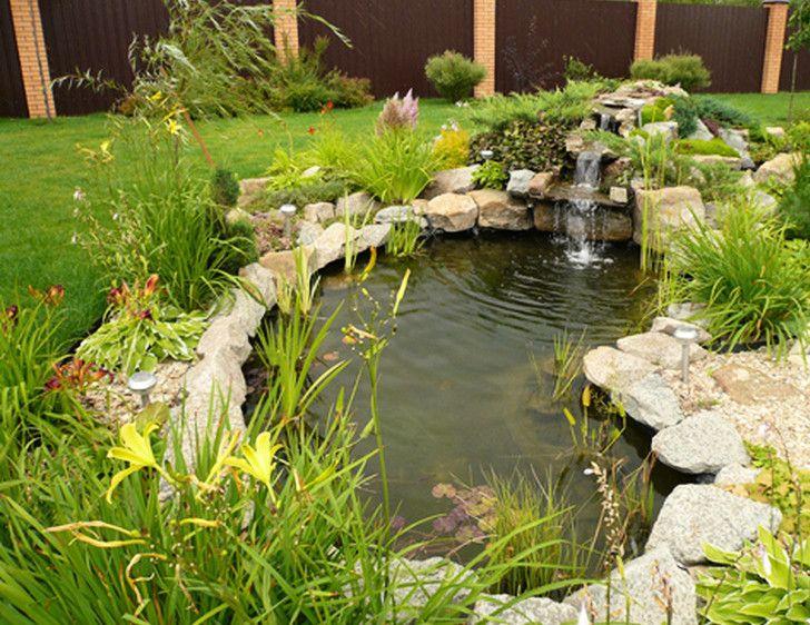 Small Waterfalls For Home Ponds Backyard Beautiful Backyards