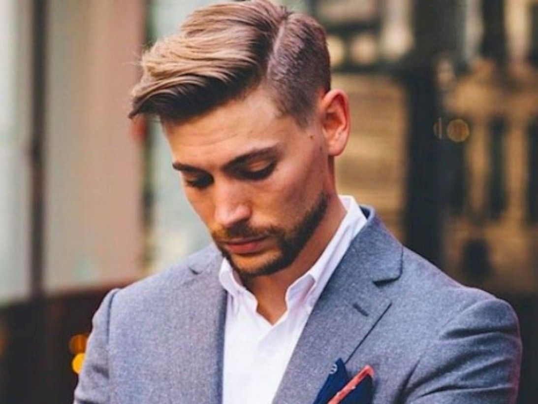 35 Formal Men Hairstyle For Wedding Party Attireal Com Business Hairstyles Medium Hair Styles Side Part Hairstyles