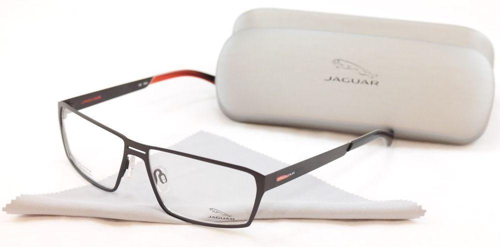 f8ac710d9cf Jaguar Eyeglasses Frame Performance 33801-843 Brown Metal Germany Made  58-14-135  Jaguar