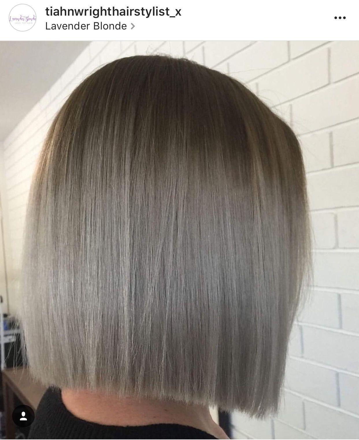 41++ Grey blonde bob hairstyles info