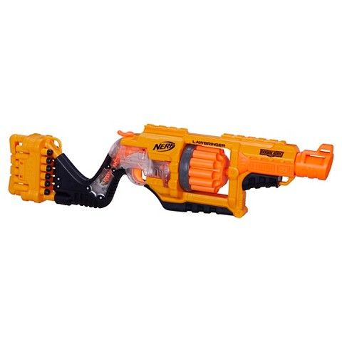Luke - Nerf Doomlands 2169 Lawbringer Blaster - Target Black Friday - $24