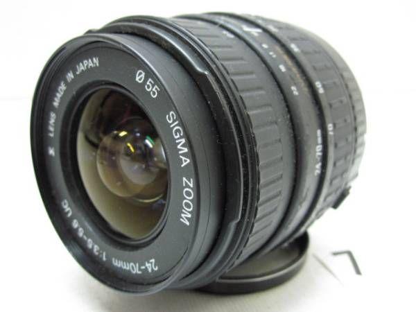 L882FA SIGMA 24-70mm F3.5-5.6 φ55 UC ジャンク_画像1