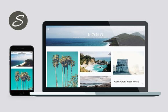 Kono Tumblr Theme @creativework247 | Themes - WordPress Themes ...