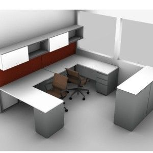 Common modern small office desk layout design ideas for Modern minimalist office design layout