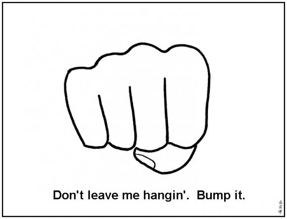 Internet Fist Bump Sharenator Fist Bump Fist Bump
