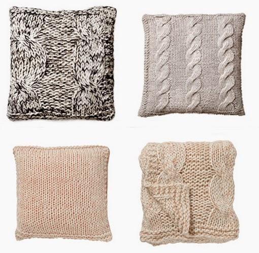 Cojines de lana diy con patr n incluido cojines pinterest crochet pillow knitting y crochet - Cojines de lana ...