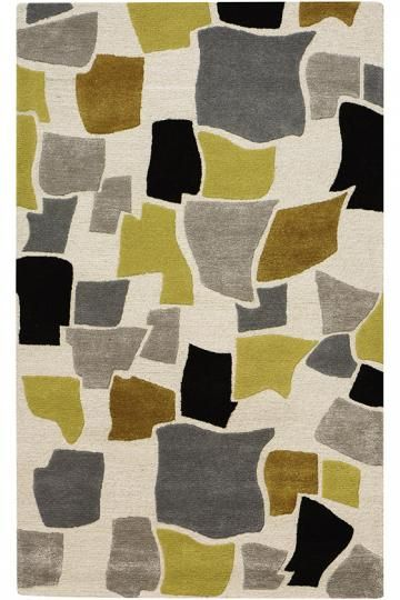 The Towne Area Rug From Metropolitan Collection Features A Random Array Of Patterned Shapes