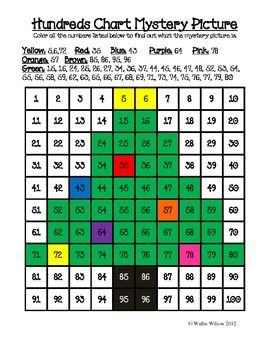 Christmas themed hundreds chart mystery pictures also teaching ideas rh pinterest