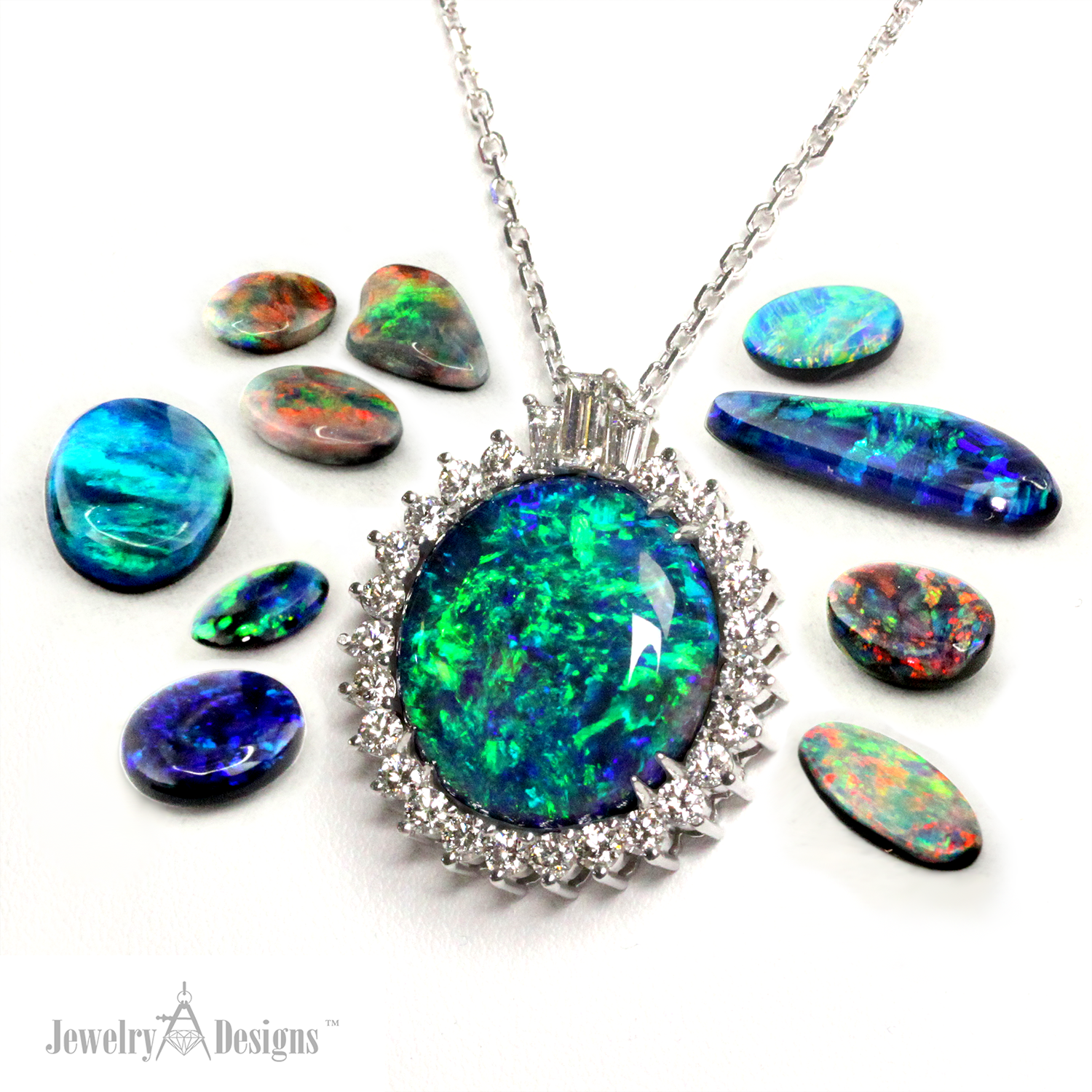 forsalefinejewelryopals from jewelry site silver necklace pendent official product black opal heritage in government australia necklaces opals