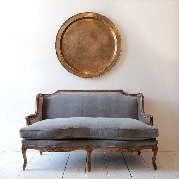 modern vintage couch. All Remodelista Home Inspiration Stories In One Place. Vintage SetteeVintage CouchesAntique Modern Couch I