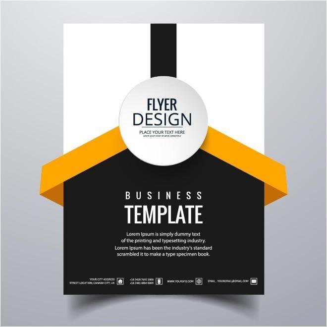 free flyer design template