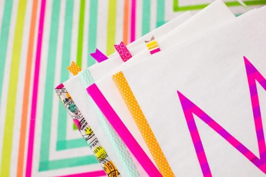 Learn In Style: How To Make Old School Book Covers With Colorful ...